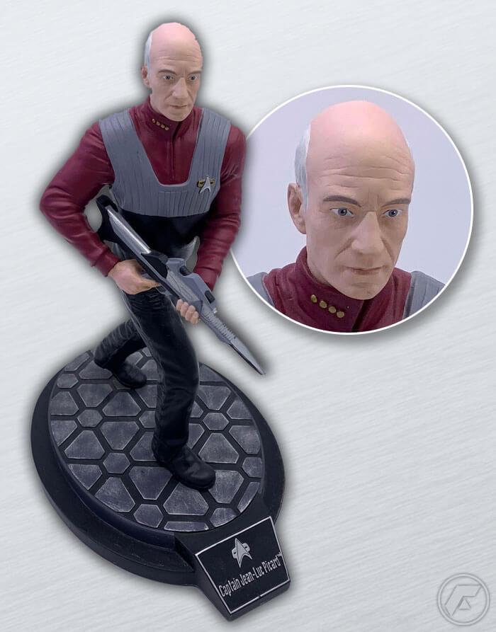 FedCon-Auktionen_Star_Trek_Picard_Statue